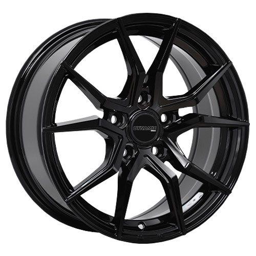 dynamic conceptor black alloy wheels