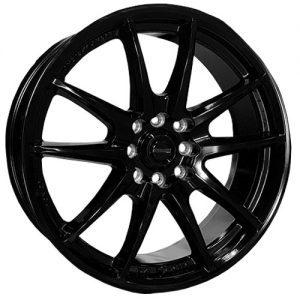 dynamic ninja black alloy wheels