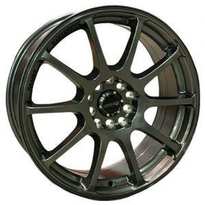 dynamic spy gunmetal alloy wheels