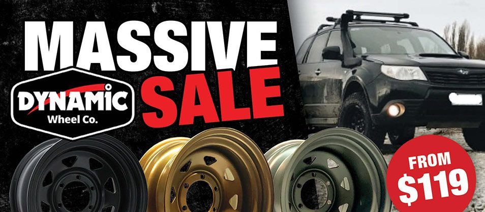Massive Sale On Dynamic Wheels Priced from $119
