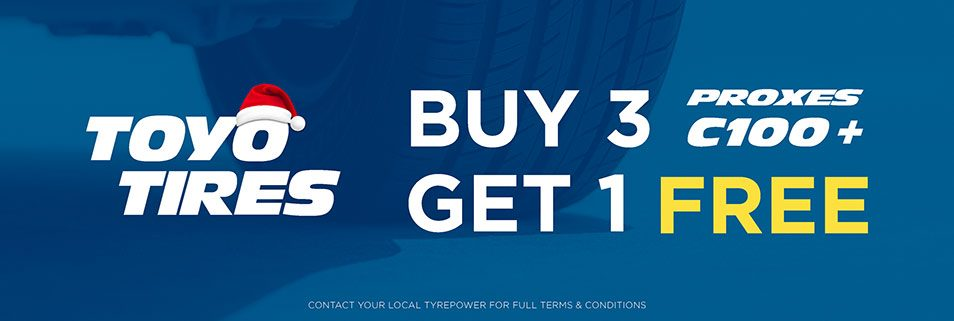 Toyo Proxes C100+ Buy 3 Get One Free