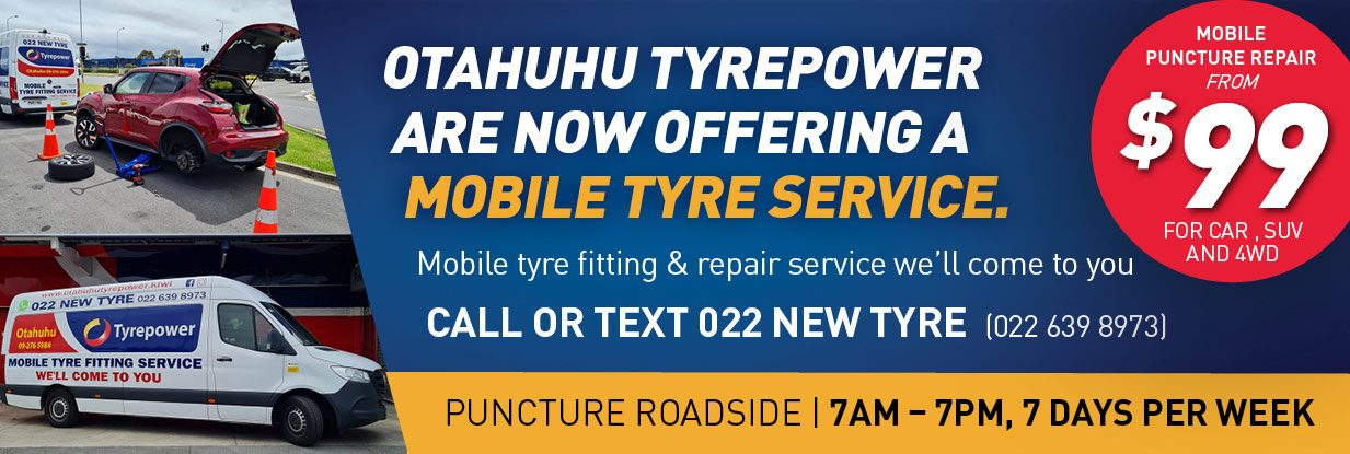 Auckland mobile tyre services